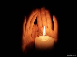 Отворот со свечей
