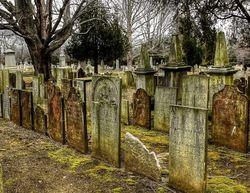 Черная магия на кладбище