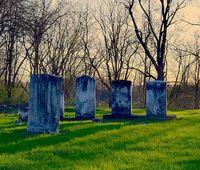 Кладбище и могила для приворота