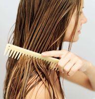 Присуха на мокрые волосы