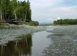 Пересохшая речка